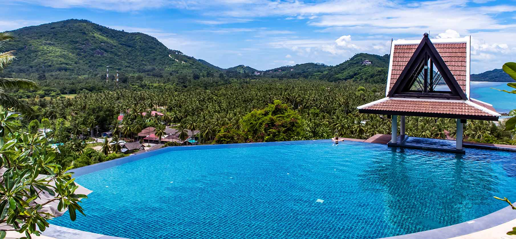 Our Resort Comes Complete With Seven Incredible Pools Nestled In Paradise.  With Some Of The Best Views In Samui.